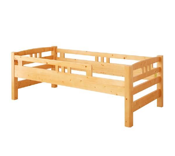 (UL) マルチに使える・高さが変えられる棚付き親子2段ベッド Star&Moon スターアンドムーン 親ベッド シングル(UL1)
