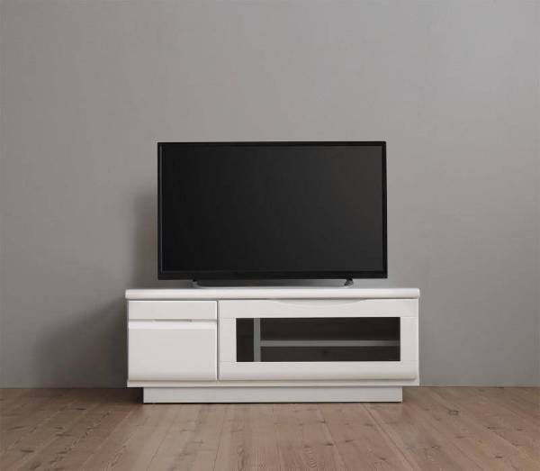 (UL) 完成品シンプルデザインテレビボード WHITV ホワイティヴィ 幅90(UL1)