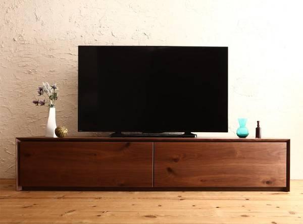 (UL)国産完成品天然木 和モダンデザイン ガラス突板テレビボード Dine ディーヌ 幅180(UL1)