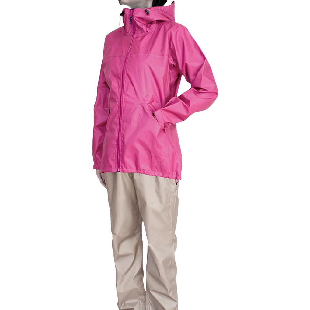 シンプルでかわいい女性用のレインスーツです シンプル レインウェア 雨具 アウトドア ウィンドブレーカー カジメイク レインコート レインスーツフェミニン2 M レディース ピンク 割り引き 格安激安 女性用 7480
