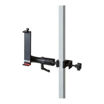 7~11インチタブレットホルダー 支柱取り付け用タブレットホルダー(2関節・アルミ製) CAR-SPHLD6