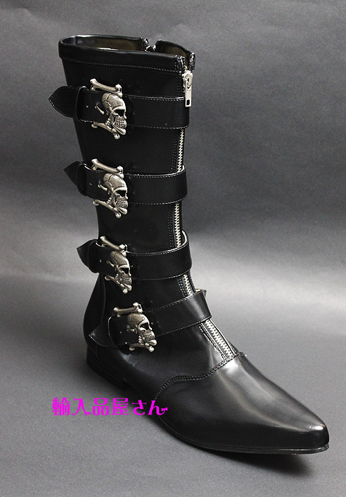 Brogue-107, Mens Cowboy Boots Demonia