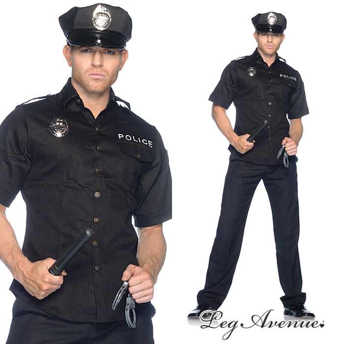 American Leg Avenue mens police costume / shirt / Hat / handcuffs / truncheon / 4-piece set man cosplay costumes! (83122)  sc 1 st  Rakuten & u-new | Rakuten Global Market: American Leg Avenue mens police ...