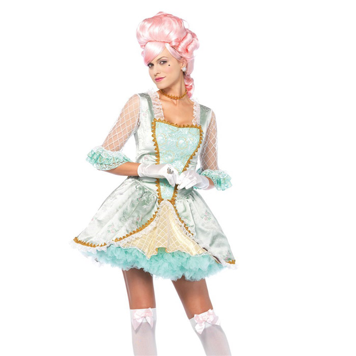 マリーアントワネット 貴族 ドレス コスプレ 3点セット ハロウィン 衣装 仮装 コスチューム レディース 大人 Leg Avenue(レッグアベニュー) 85574 送料無料◆2016新作◆取寄せ