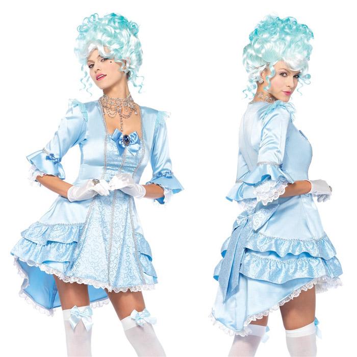 ベルサイユ 貴族 ドレス コスプレ 2点セット ハロウィン 衣装 仮装 コスチューム レディース 大人 Leg Avenue(レッグアベニュー) 85584 送料無料◆2016新作◆取寄せ