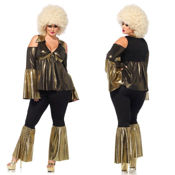ディスコ コスプレ 2点セット ハロウィン ダンス 衣装 仮装 コスチューム レディース 大きいサイズ 大人 Leg Avenue(レッグアベニュー) 85596X 送料無料◆2016新作◆取寄せ