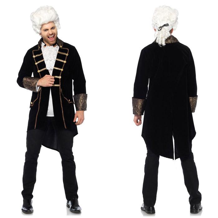 吸血鬼 ヴァンパイア コスプレ 2点セット ハロウィン 衣装 仮装 コスチューム メンズ 男性用 Leg Avenue(レッグアベニュー) 85626 送料無料◆2016新作◆取寄せ