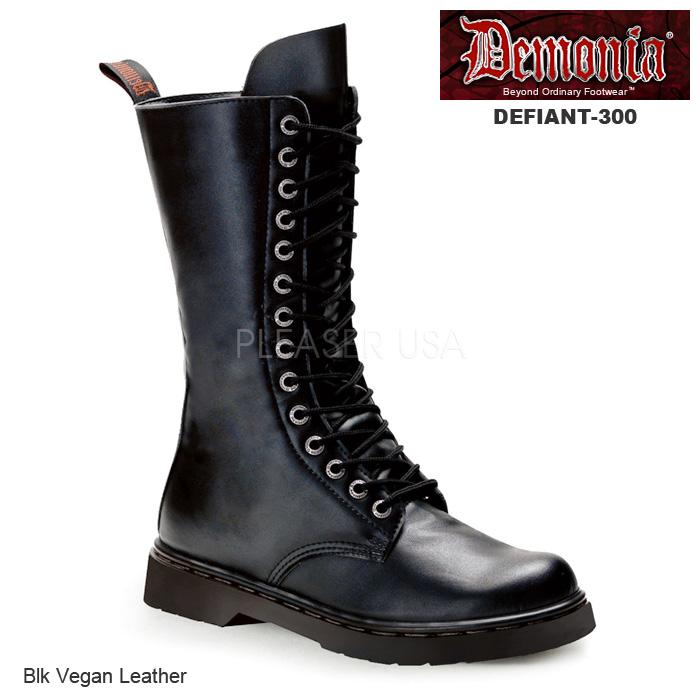 DEMONIA(デモニア) パンク/ロック系 コンバットブーツ ワークブーツ  Men's/Unisex◆DEFIANT-300◆取り寄せ