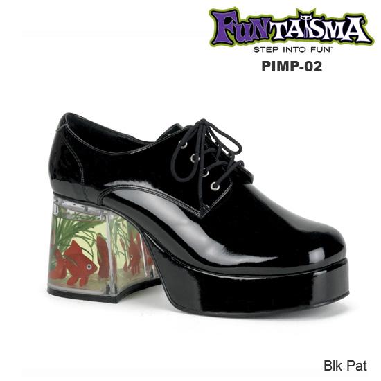 FUNTASMA Men'sハイヒールシューズ PIMP-02 ◆取り寄せ