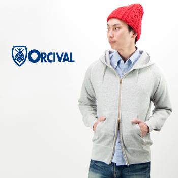 ORCIVAL オーシバル メンズ フレンチテリーフルジップパーカー[RC-9007]【BASIC】