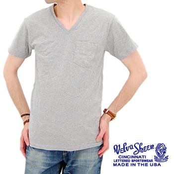 Velva Sheen ベルバシーン 2パックVネックTシャツ[160922]【BASIC】