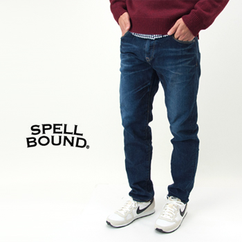 SPELL BOUND スペルバウンド メンズ セルビッジ ストレッチデニム ブラスト[40-171C]【FW】