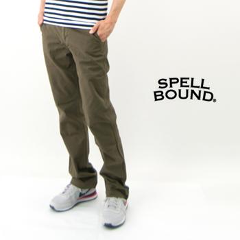 SPELL BOUND スペルバウンド メンズ ストレッチトラウザー[43-423Z]【BASIC】