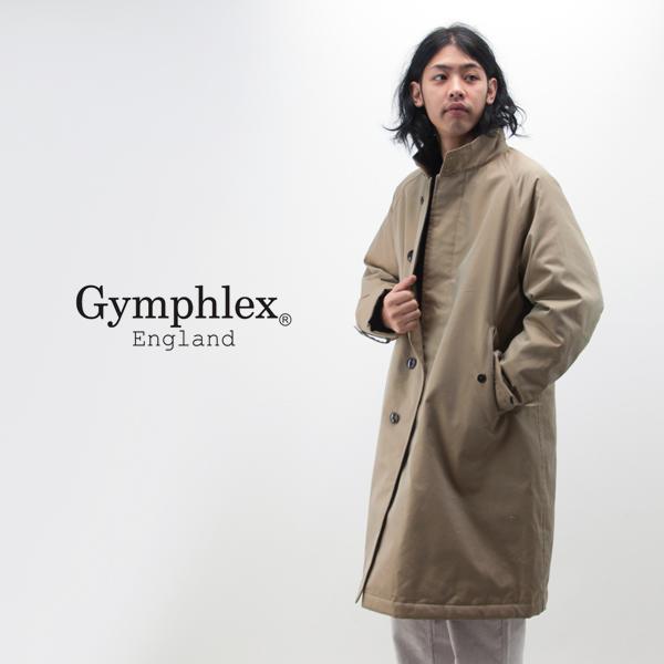Gymphlex ジムフレックス メンズ ユーティリティダウンコート[J-1317SYR]【2018FW】