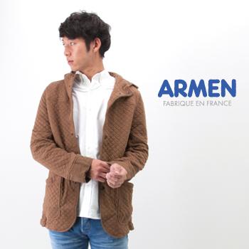 ARMEN アーメン メンズ HOODED JACKET[NAM1153]【FW】