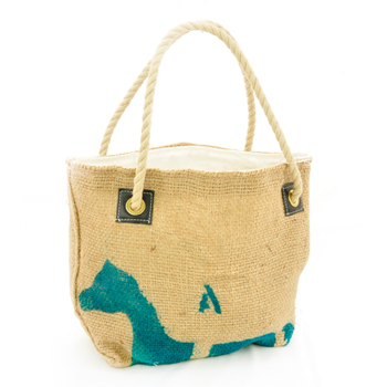SEA BAGS シーバッグス COFFEE BEAN BAG リサイクルセイルクロス トートバッグ【SS】