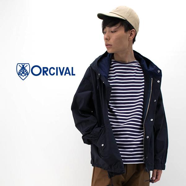 ORCIVAL オーシバル メンズ コットンポプリン フードジャケット[RC-8058DCP]【2020SS】
