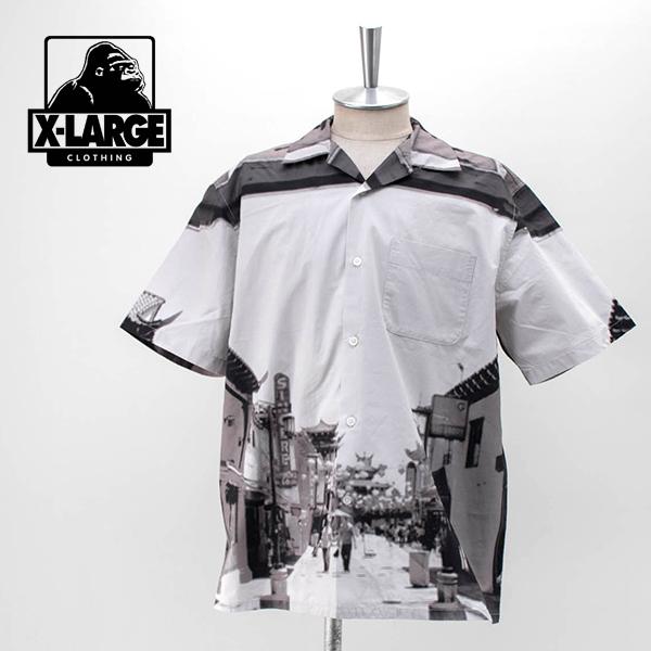 XLARGE エクストララージ メンズ LA チャイナタウン S/S シャツ[101202014003]【2020SS】