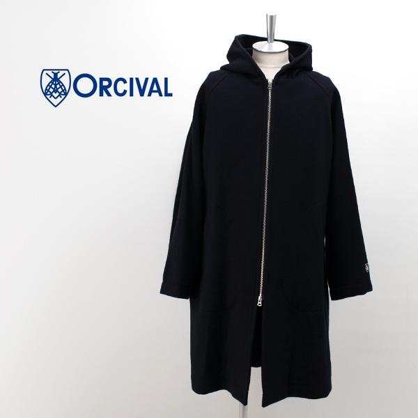 ORCIVAL オーシバル メンズ ジップフーデッドコート[RC-8017NLM]【2018FW】