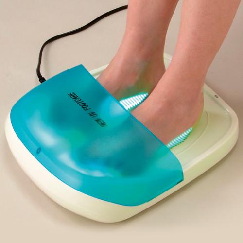 紫外線治療器 New UVフットケア【足 減菌 水虫 白せん菌 消臭】【送料無料】