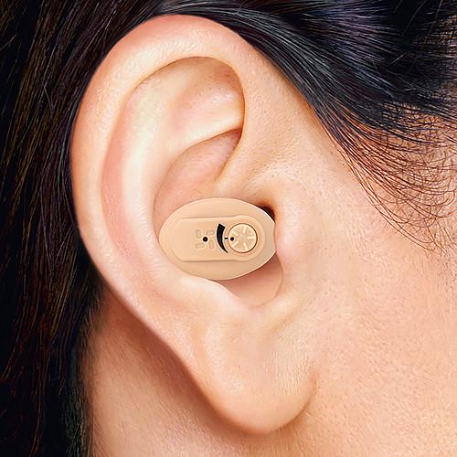 ニコン エシロール(NEF-05) 耳穴型補聴器 【電池18個プレゼント】【小型 目立たない 補聴器 集音器 耳あな 軽度 難聴 敬老の日 父の日 母の日】【送料無料】