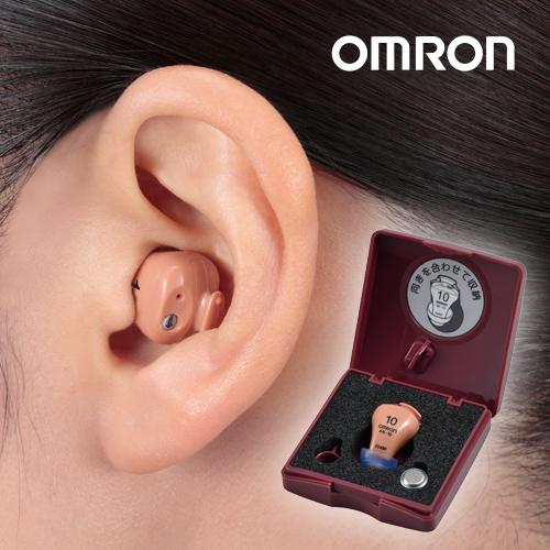 オムロン イヤメイトデジタル AK-10(空気電池6個付き) 【デジタル 補聴器 集音器 難聴】【敬老の日 ギフト】【送料無料】