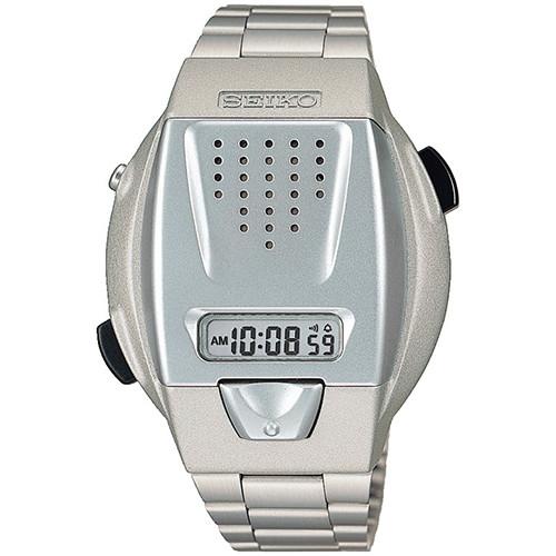 セイコー・音声デジタル腕時計 【音声 お知らせ トーキングウォッチ SBJS001】【ギフト プレゼント】【送料無料】