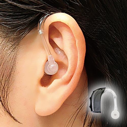 世界で唯一の〈チャネルフリー方式〉で、言葉の明瞭度がアップ。高度難聴まで対応する高性能 アクトス 耳掛け式デジタル補聴器「カリスタ」【左右兼用 補聴器 集音器 バーナフォン ACTOSII-CP】【送料無料】