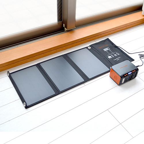 蓄電池 メガパワーバンクお買い得セット【 ACコンセント付 ソーラー 停電 災害 24,000mAh バッテリー 充電 アウトドア 】【送料無料】
