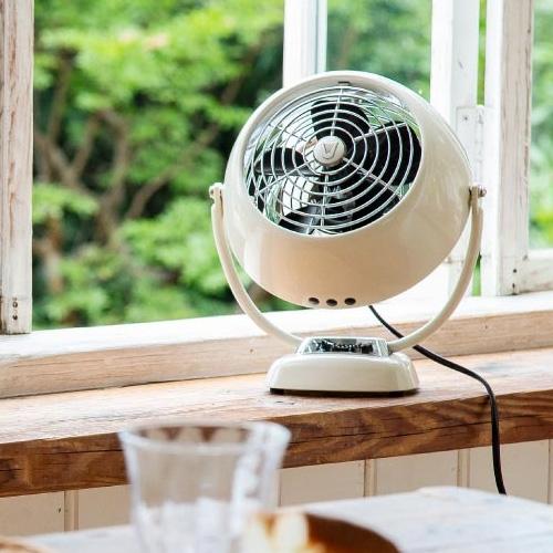 ボルネード アンティークファン VFANJR-JP - 扇風機 サーキュレーター 空調 レトロ アンティーク 公式通販 クラシック 暖房循環 送風 現品 白 空気循環 ビンテージ 換気 ホワイト 10畳 風量
