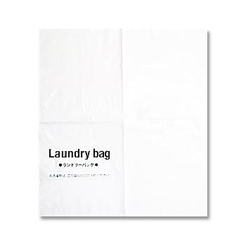 ランドリ―バッグ ビニール製 LB-4550 2000枚入 1枚当り7.6円