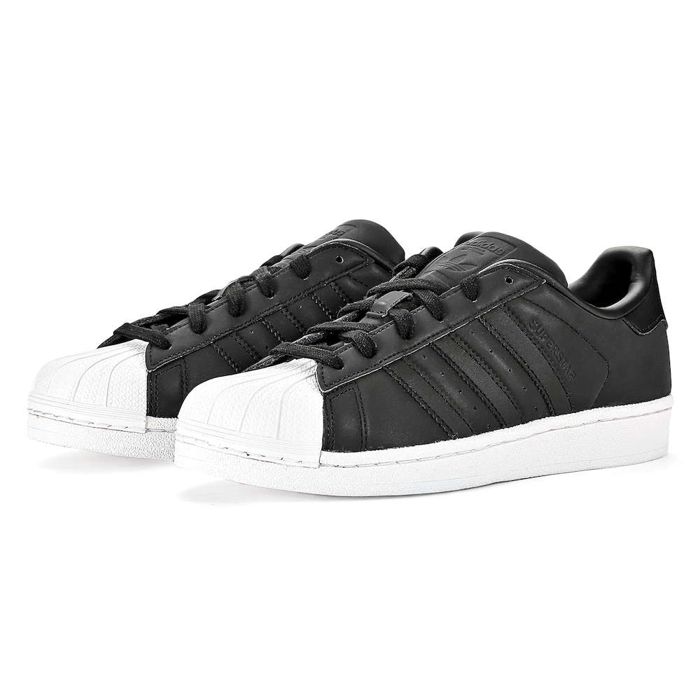 brand new a7614 b0ffb Adidas ADIDAS ORIGINALS BY9176 SUPERSTAR W superstar CBLACK / CBLACK /  FTWWHT Lady's shoes sneakers - brand running sports