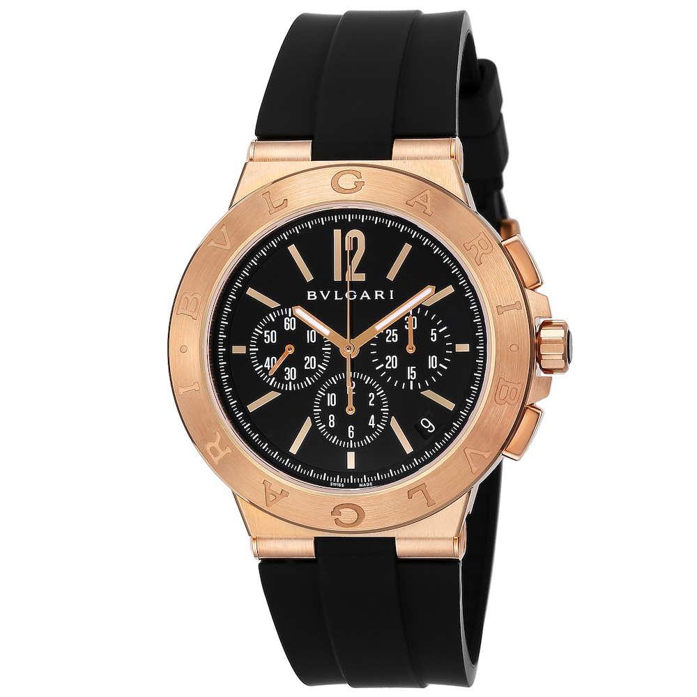 ブルガリ BVLGARI ディアゴノ メンズ 時計 腕時計 BVS-DGP41BGVDCH-SET-BRW ブランド とけい ウォッチ