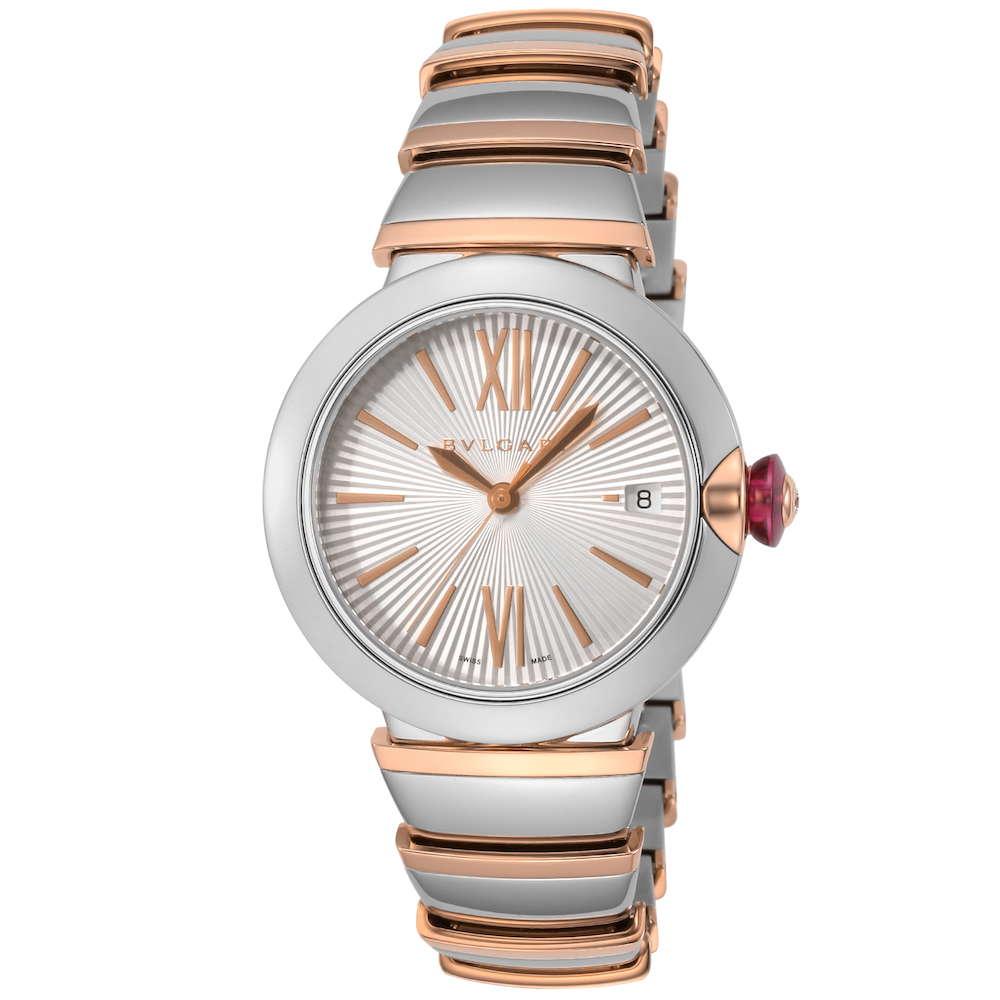 ブルガリ BVLGARI ルチェア レディース 時計 腕時計 BVS-LU36C6SSPGD ブランド とけい ウォッチ