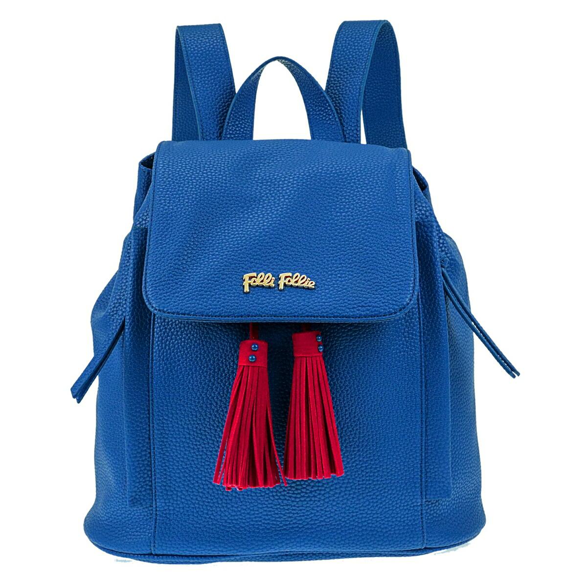 フォリフォリ FOLLI FOLLIE バッグ・その他 レディース バッグ バックパック FF-BK16P010GUR-BL_RO ファッション アクセサリー バッグ 財布 カジュアル ブランド ギリシャ