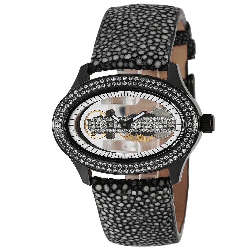 【在庫処分】 フォリフォリ Folli Follie PURITY ブラック レディース 時計 腕時計 自動巻 Folli ブラック フォリフォリ WF1E016SSW-BK, カメハウス:3862aa88 --- rishitms.com