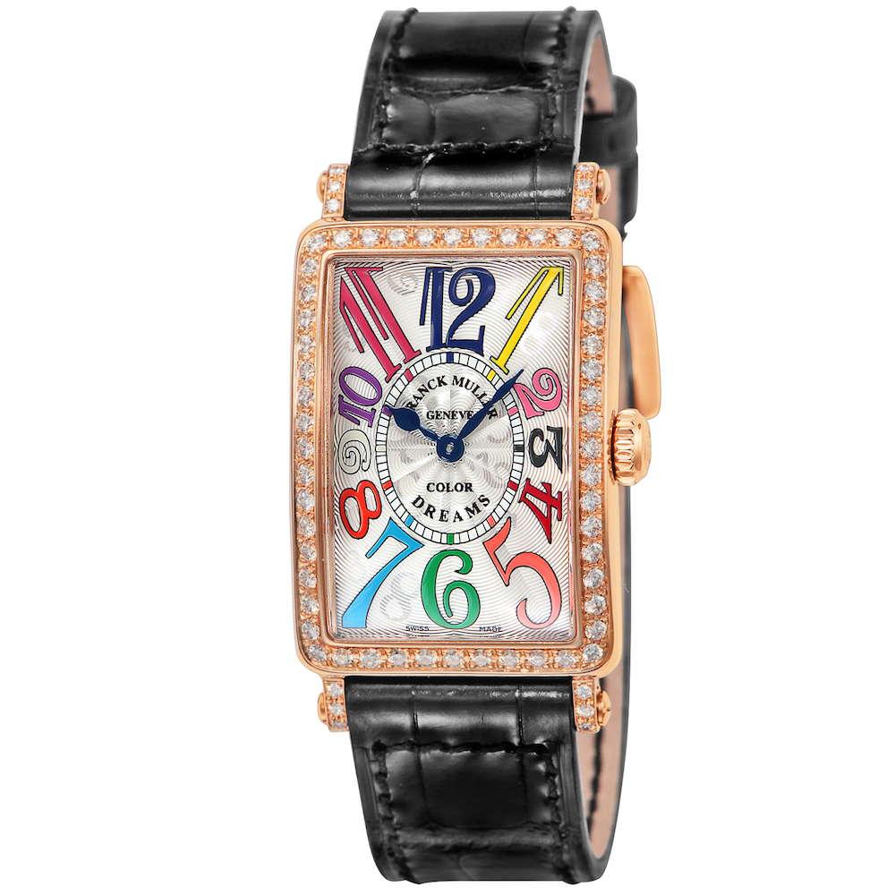 フランクミュラー FRANCK MULLER ロングアイランド レディース 時計 腕時計 FK-902QZD1RCOLDRM-SLV-BLK-5N-EN 新品フランクミューラー フランク ミュラー ブランド とけい ウォッチ