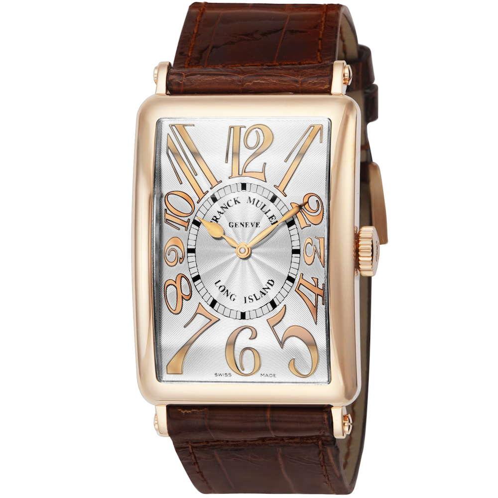 金無垢 腕時計 フランクミュラー FRANCK MULLER ロングアイランド メンズ 時計 腕時計 FK-1200SCREL-SLV-BRW-GDH-5N フランクミューラー フランク ミュラー ブランド とけい ウォッチ 新品 PURE GOLD WATCH