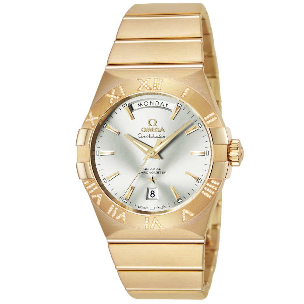 金無垢 腕時計 オメガ OMEGA コンステレーション  時計 腕時計 OMS-12355382202002 高級腕時計 ブランド スイス とけい ウォッチ 新品 PURE GOLD WATCH