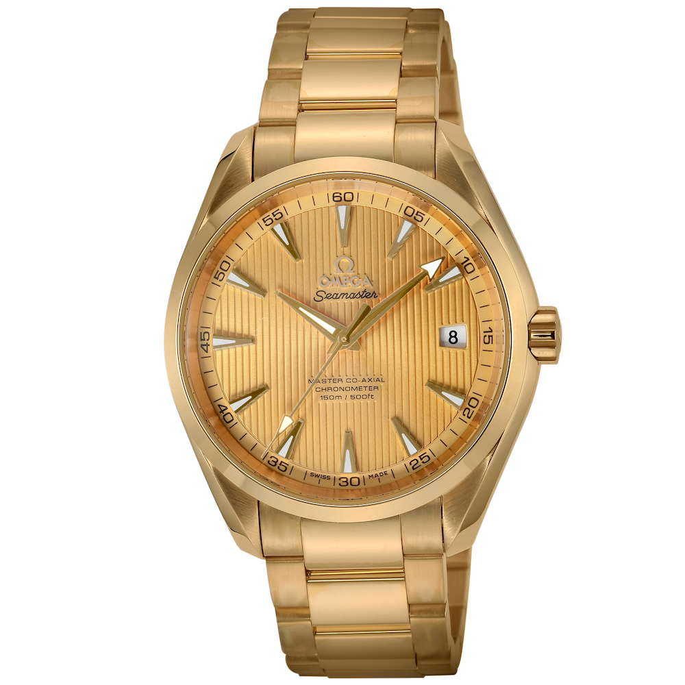 金無垢 腕時計 オメガ OMEGA シーマスター アクアテラ メンズ 時計 腕時計 OMS-23150422108001 高級腕時計 ブランド スイス とけい ウォッチ 新品 PURE GOLD WATCH