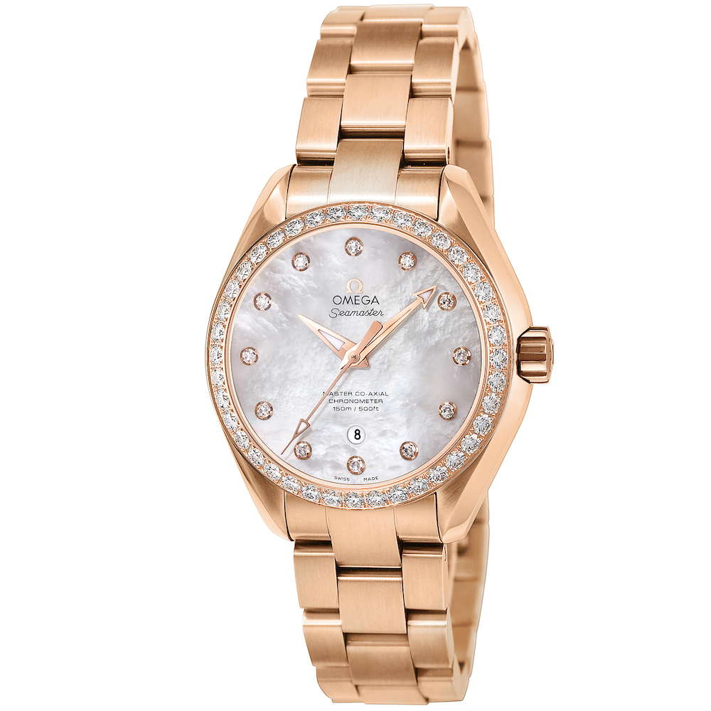 金無垢 腕時計 オメガ OMEGA シーマスター レディース 時計 腕時計 OMS-23155342055003 高級腕時計 ブランド スイス とけい ウォッチ 新品 PURE GOLD WATCH