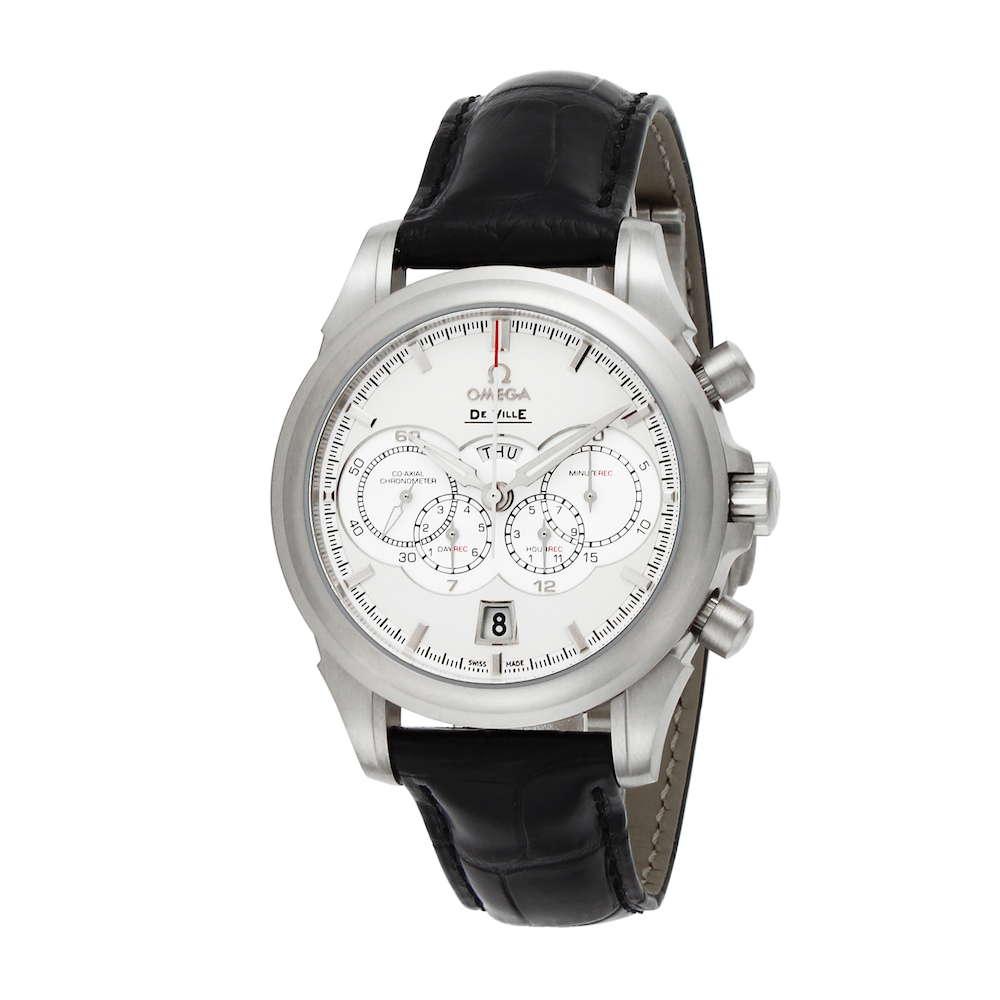 金無垢 腕時計 オメガ OMEGA デ・ヴィル メンズ 時計 腕時計 OMS-42253415209001 高級腕時計 ブランド スイス とけい ウォッチ 新品 PURE GOLD WATCH