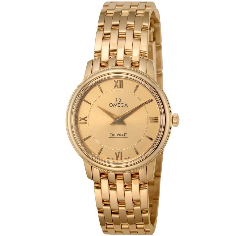 オメガ OMEGA デ・ヴィル プレステージ レディース 時計 腕時計 OMS-42450276008001 高級腕時計 ブランド スイス とけい ウォッチ