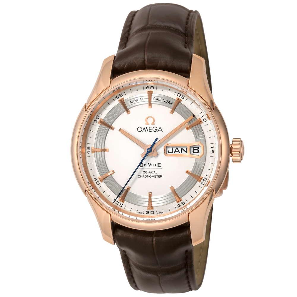 オメガ OMEGA デ・ヴィル メンズ 時計 腕時計 OMS-43163412202001 高級腕時計 ブランド スイス とけい ウォッチ 新品 PURE GOLD WATCH アリゲーター革ベルト 金無垢