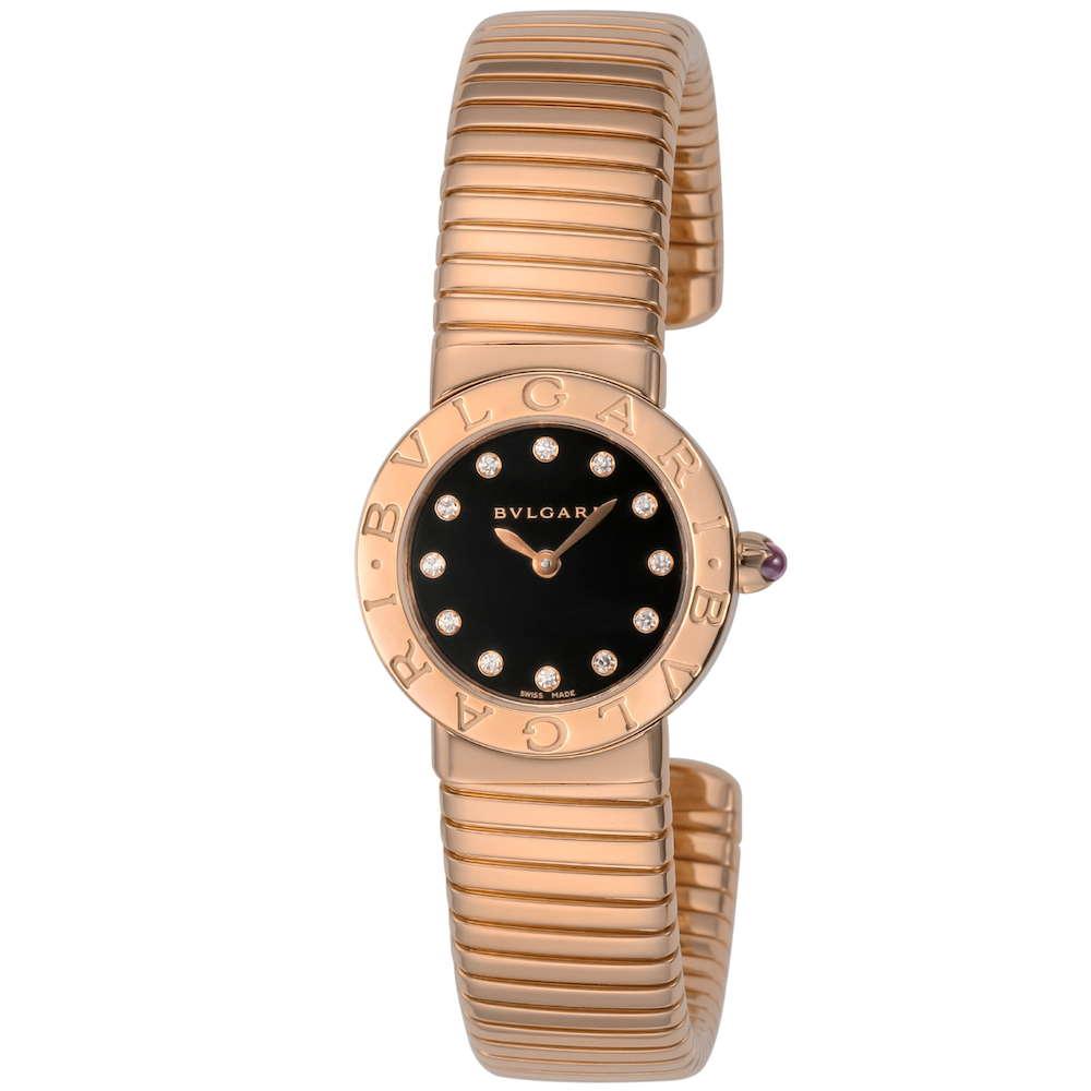 金無垢 腕時計 ブルガリ BVLGARI トゥボガス レディース 時計 腕時計 BVS-BBLP262TBGG12-M ブランド とけい ウォッチ 新品 PURE GOLD WATCH