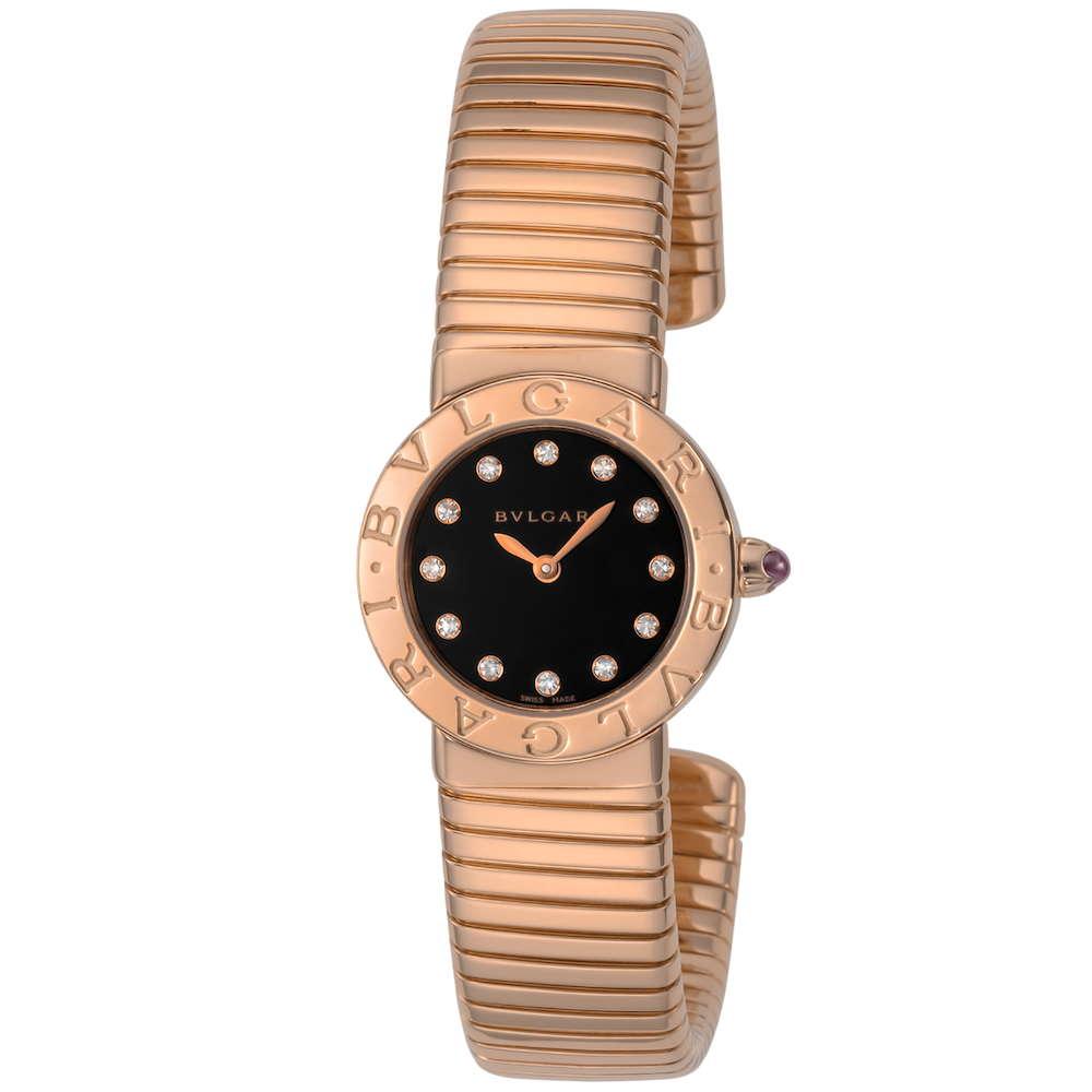 金無垢 腕時計 ブルガリ BVLGARI トゥボガス レディース 時計 腕時計 BVS-BBLP262TBGG12-S ブランド とけい ウォッチ 新品 PURE GOLD WATCH