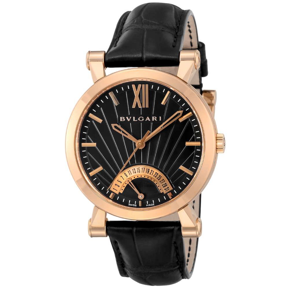 金無垢 腕時計 ブルガリ BVLGARI ソティリオブルガリ メンズ 時計 腕時計 BVS-SBP42BGLDR ブランド とけい ウォッチ 新品 PURE GOLD WATCH