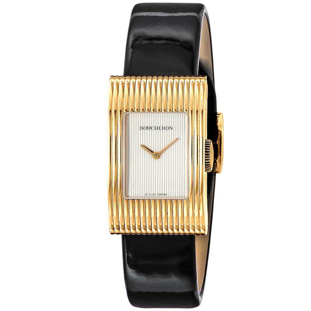 ブシュロン BOUCHERON リフレ レディース 時計 腕時計 BUC-WA009523 高級腕時計 グランサンク ブランド フランス とけい ウォッチ 新品 PURE GOLD WATCH 金無垢