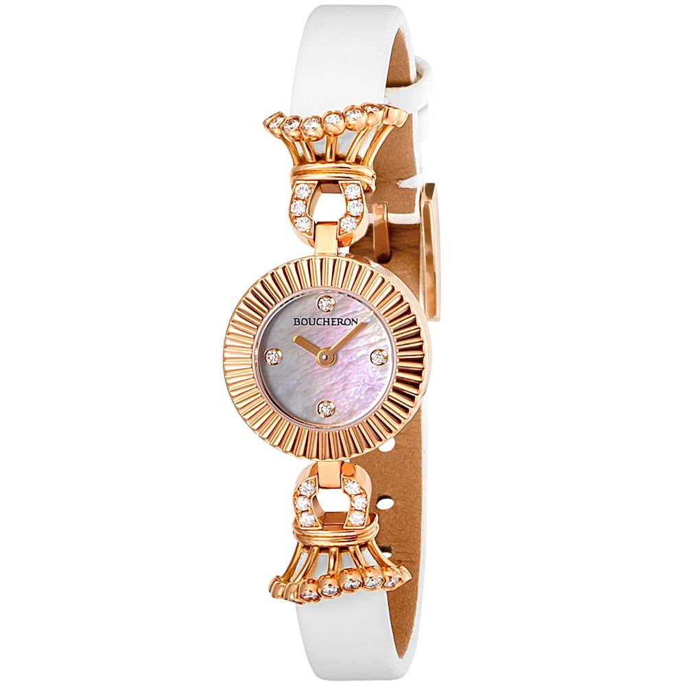 金無垢 腕時計 ブシュロン BOUCHERON マジョリー レディース 時計 腕時計 BUC-WA012504 高級腕時計 グランサンク ブランド フランス とけい ウォッチ 新品 PURE GOLD WATCH