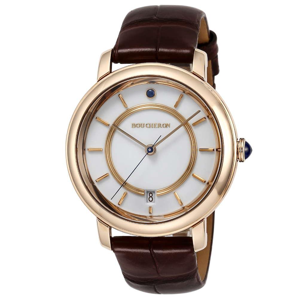 金無垢 腕時計 ブシュロン BOUCHERON エピュール クラシック メンズ 時計 腕時計 BUC-WA021103 高級腕時計 グランサンク ブランド フランス とけい ウォッチ 新品 PURE GOLD WATCH